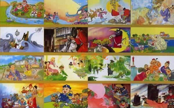 儿童绘本故事5幅图; 阅读学习单平装2册